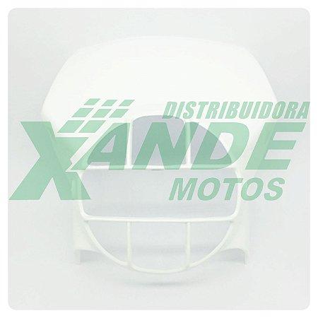 CARENAGEM FAROL XLX 250 / XL 250 R / XLS 125 BRANCO PARAMOTOS