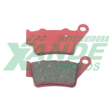 PASTILHA FREIO CB 500 / XT 660R 2008 [TRAS] COBREQ RACING (651)