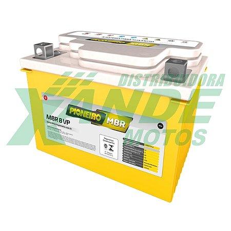 BATERIA CB 500 / XT 600E / SHADOW / BANDIT / NINJA 250 MBR 8VP PIONEIRO  **