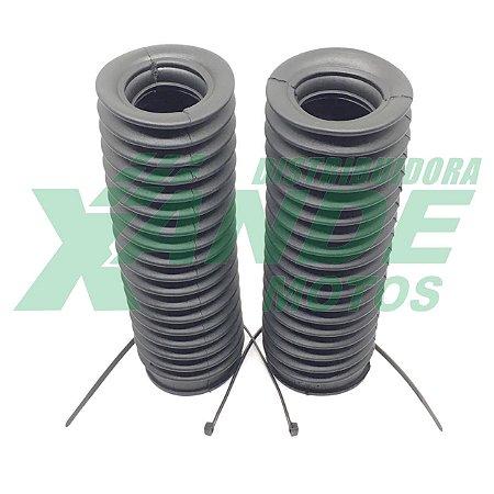 SANFONA 18 DENTES PRETA NXR BROS 125-150/XTZ 125/DT 180/XLX 250 TRILHA