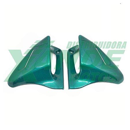 ENTRADA DE AR CBX 200 VERDE 1998-1999 (PAR) PARAMOTOS