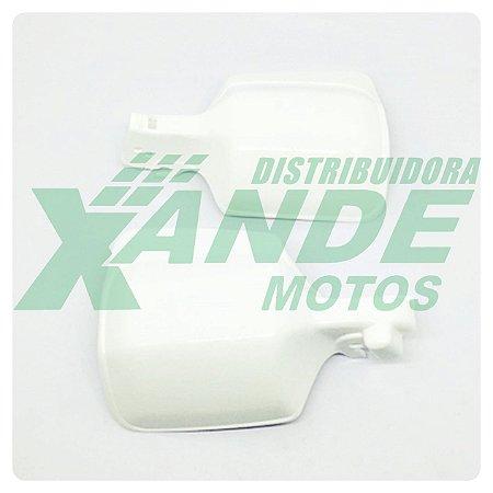 PROTETOR MAO NX 150-200-350 / XLX 350 BRANCO  PARAMOTOS