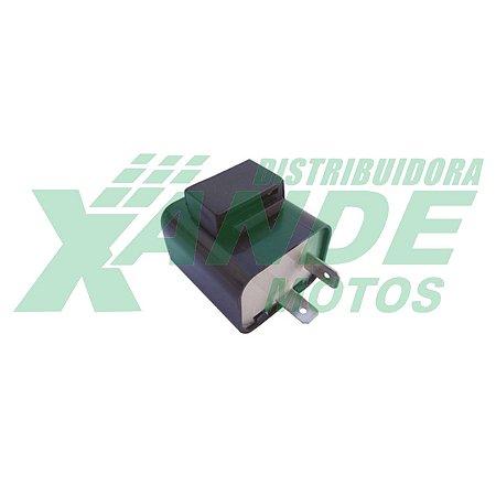 RELE PISCA 12V BIZ 125 2009/BIZ 100 TODAS/POP 100-110/ DREAM (2 PINOS) MAGNETRON