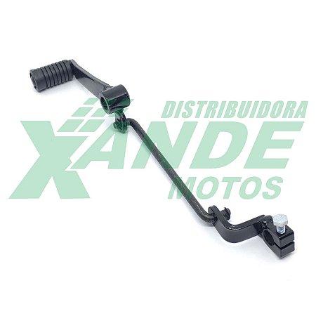 PEDAL CAMBIO CBX 200 / TITAN 150 SPORT COMPLETO PRETO COMETA