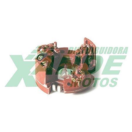 ESCOVA P/ MOTOR DE PARTIDA YES/INTRUDER 125/ BURGMAN C/ SUPORTE MAGNETRON