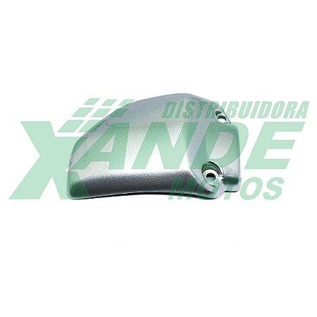 TAMPA CARBURADOR CBX 200 PRATA PINTADA PARAMOTOS -OFERTA-