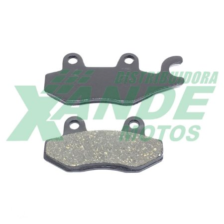 PASTILHA FREIO XTZ 125/XTZ 250/TTR 230/YES/KANSAS[DIANT] FABRECK (622)