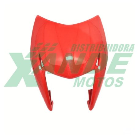 CARENAGEM FAROL NXR BROS 150 VERMELHO 2009-2010 PARAMOTOS