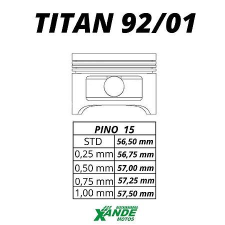 PISTAO KIT TITAN 125 1992-2001 VINI 0,50