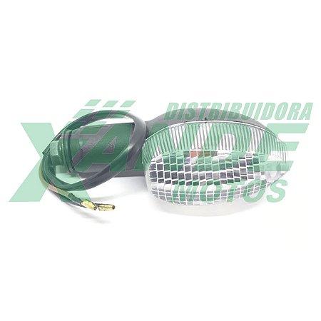 PISCA XTZ X 125 2008 EM DIANTE CRISTAL (DIANT ESQ / TRAS DIR) TRILHA