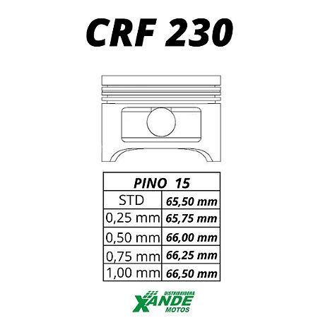 PISTAO KIT CRF 230 KMP/ RIK 0,75