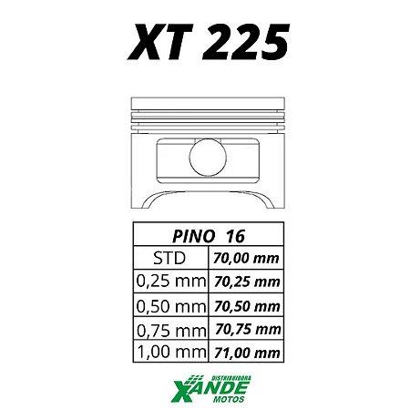 PISTAO KIT TDM 225 / XT 225 / TTR 230 KMP/ RIK  STD