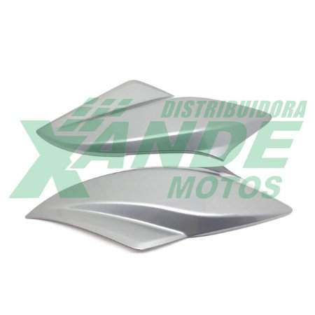 CARENAGEM FAROL TITAN 150 (LATERAL) PRATA 2011 (PAR) PARAMOTOS