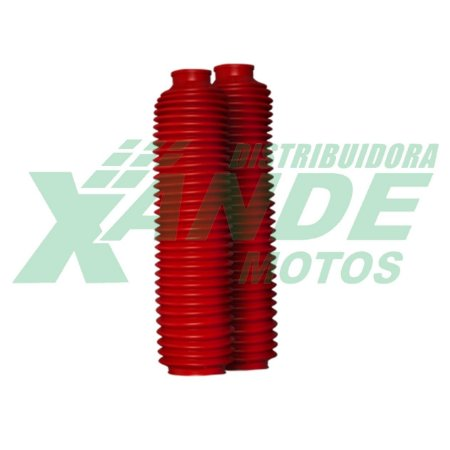 SANFONA 32 DENTES VERMELHA XR 250 TORNADO / XTZ 250 LANDER CIRCUIT