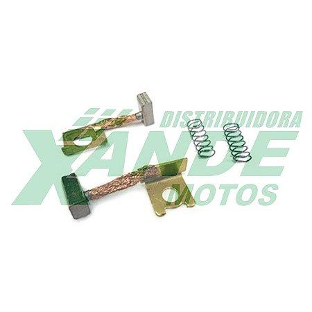 ESCOVA P/ MOTOR DE PARTIDA YAMAHA FAZER 250 2012 / XTZ 250 LANDER  MAGNETRON