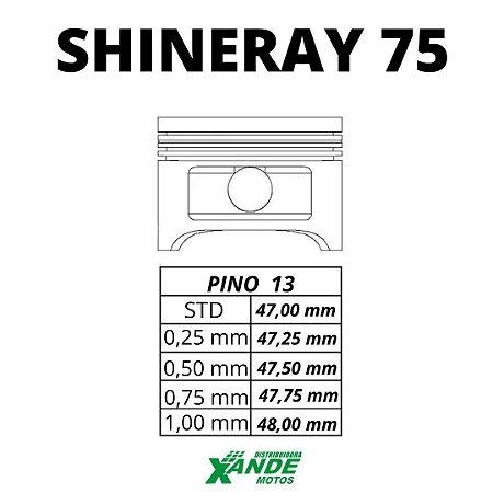 PISTAO KIT SHINERAY 50 [TRANSFORMA PARA 75CC] VINI 1,00