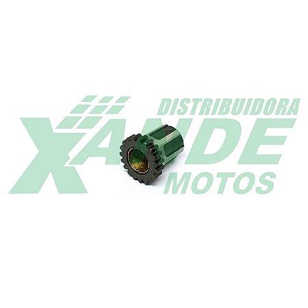 ENGRENAGEM DA PARTIDA TITAN 99-2000 19 DENTES (VAI ATRAS DA CAMPANA) XMB