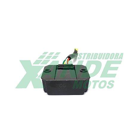 REGULADOR RETIFICADOR DAFRA LASER 150 (CC) ZOUIL (COM CHICOTE)