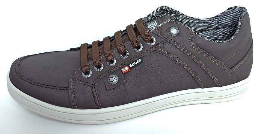 0290cee64d Calçados Femininos · Calçados Masculinos. Sapatênis Casual CR Shoes Café  super confortável