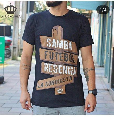 Camiseta Samba futebol e resenha