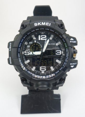6b38908ffd3 Relógio Skmei 1155 Preto - Brucuta Shop