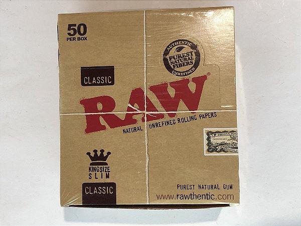 Caixa seda raw classic king size