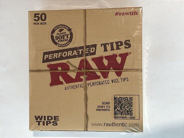 Caixa piteira Raw perforated