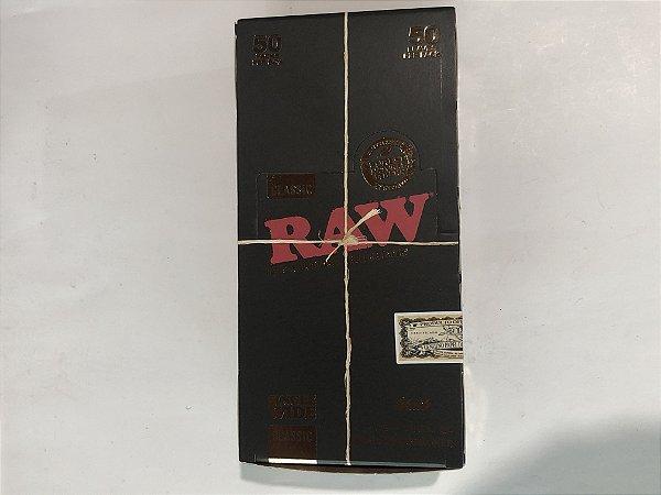 Caixa seda raw black single wide