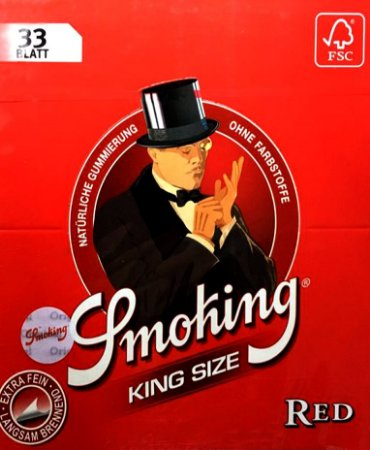 SEDA SMOKING RED KING SIZE