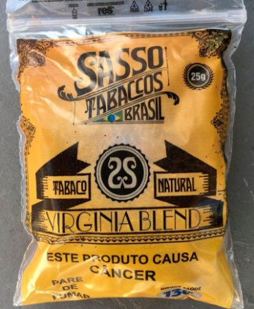 TABACO NATURAL SASSO (Pacote)