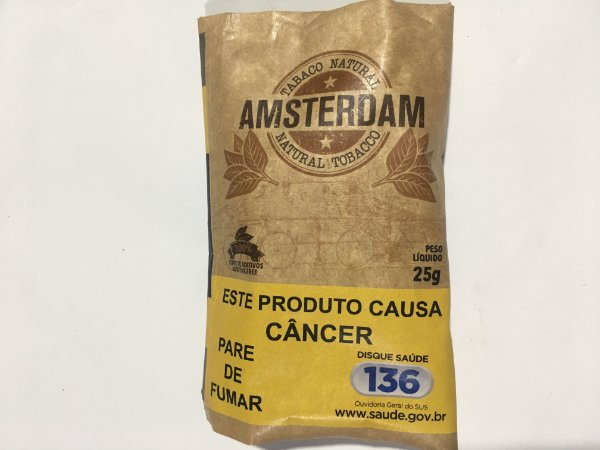 Caixa Tabaco natural Amsterdam