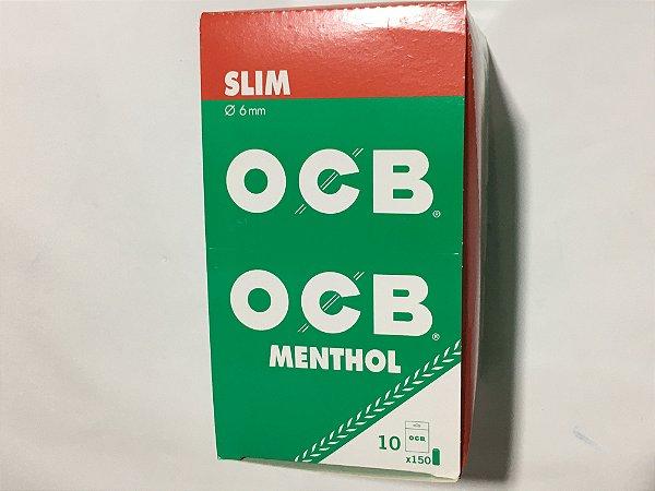 Caixa filtro Mentol OCB