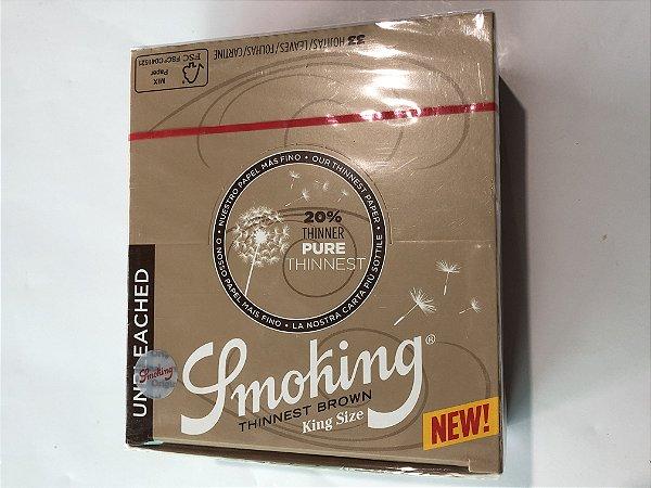 Caixa Smoking Thinnest Brown KS
