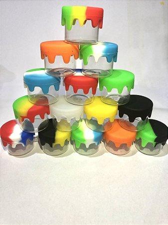 15 Slick vidro com tampa silicone