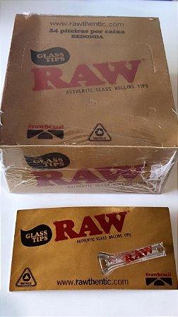 Caixa Piteira de vidro Raw