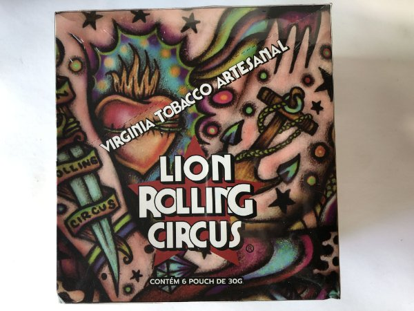 Caixa Tabaco Lion Circus