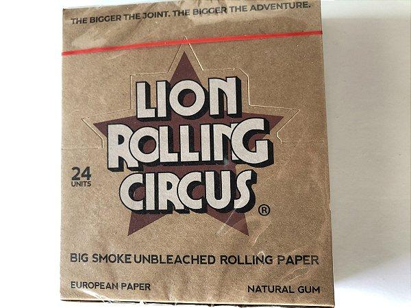 Caixa seda lion circus brown  ks