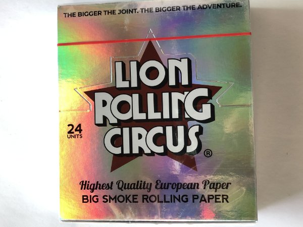 Caixa seda lion circus silver ks