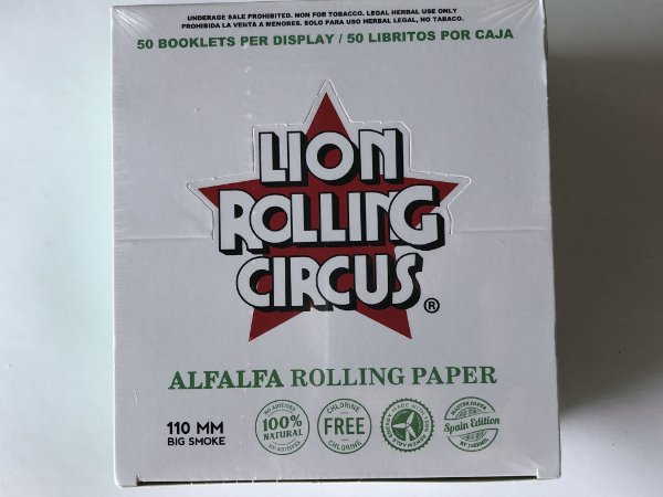 Caixa lion circus alfafa ks