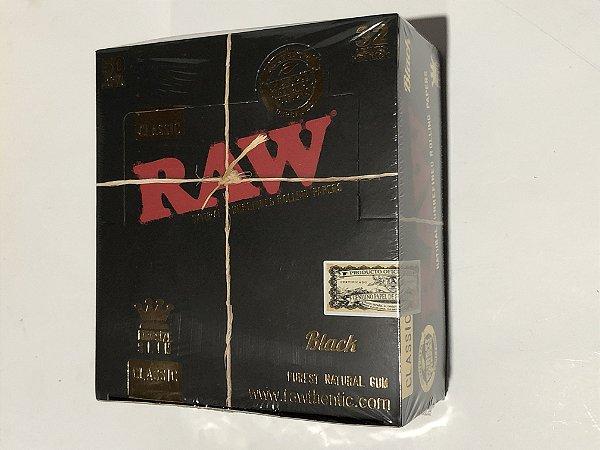 Caixa Raw black king size