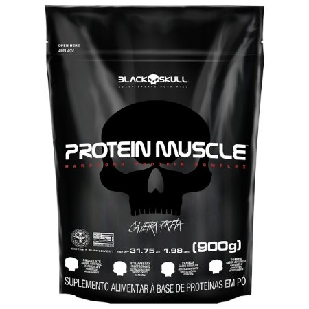 WHEY PROTEIN MUSCLE - PROTEÍNA CONCENT ISO - 900G - REFIL