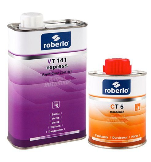 Verniz VT 141 com Catalisador Express 250ml
