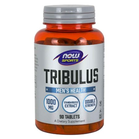 Tribulus Terrestris 1000mg Ultra Concentrada Importada EUA Now Foods 90 Cápsulas Melhor do Mercado