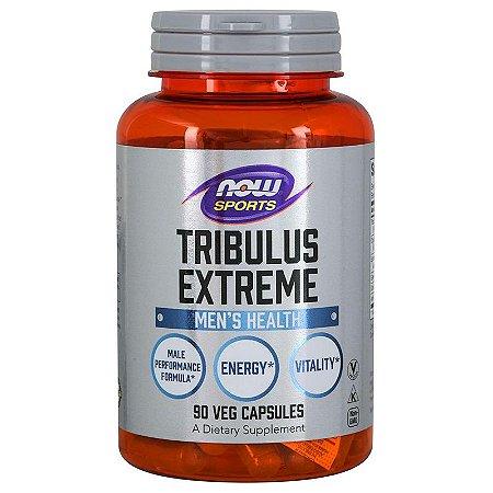 Tribulus Extreme C/ Maca Epimedium Ashwagandha Importada Now Foods 90 Cápsulas Fórmula Completa