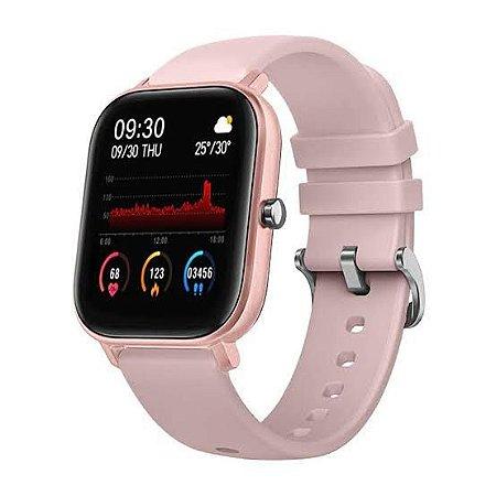 Relógio Inteligente Morefit Pro Rosa