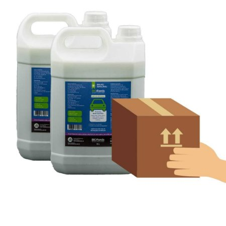 Kit Profissional Antiviral - BioForcis Brilho 5ltr - 2 unidades (caixa)