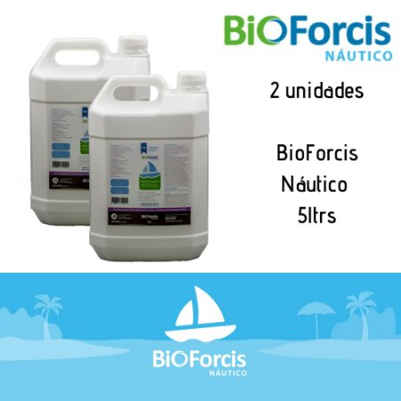 Kit Profissional BioForcis Náutico 5ltr - 2 un (caixa)