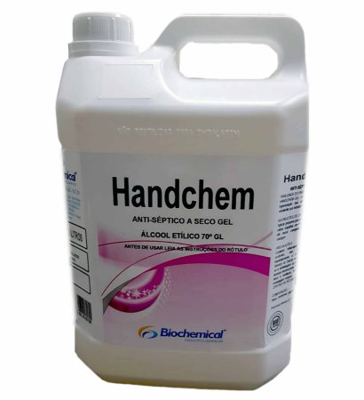 Álcool Gel 70% Higienizador - 5lr
