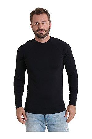 Camiseta Antiviral Masculina Manga Longa UV+50 - Amni Virus Bac Off Rhodia