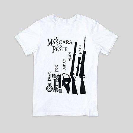 Camiseta T-Shirt Masculina - A Máscara da Peste - Armas